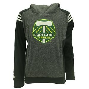 MLS official Adidas Portland Timbers Kids Youth Size Sweatshirt Hoodie New