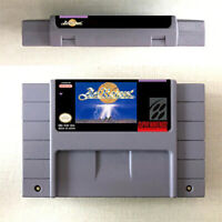 New ActRaiser Game Card Console For Nintendo SNES  US Version 16 Bit English
