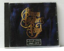 ALLMAN BROTHERS BAND DECADE OF HITS 1969-1979 CD 1991 Polydor 1st Ed. NEW SEALED