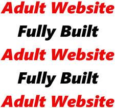 Adult Website - Online Business - Internet - Affiliate - For Sale - Fully Built