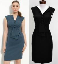 Nanette Lepore Black Sunny Day Sheath Dress Size 2 XS NWT Obi Belt LBD $328 New