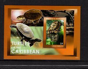 Antigua #3204 (2012 Turtles  sheet)  VFMNH  CV $6.75