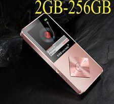 4-256GB HiFi MP3 MP4 Player walman FM Radio LCD Screen Video Movie Headset Lot