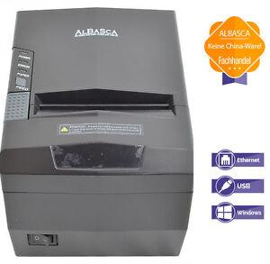 ALBASCA  RTS-8270S   POS-Thermo Bon-Kassendrucker   Ethernet Netzwerk USB