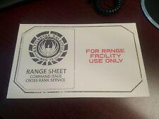 New Battlestar Galactica Bsg 75 Range Sheet Command Issue Loot Crate (set of 2)