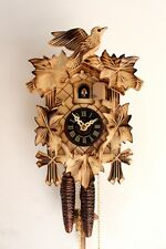cuckoo clock black forest 1 day original german wood carving mechanical new top