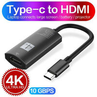 USB C to HDMI Adapter 4K @60Hz Type C 3.1 Male to HDMI Female Cable Adapter PY