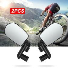 2 Fahrradspiegel Fahrrad Spiegel Rückspiegel Lenkerspiegel Lenker Reflektor Set