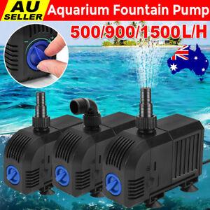 Submersible Electric Pond Pump Aquarium Fountain Marine Fish Tank Water Pump AU