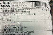 Cisco QSFP-100G-AOC10M