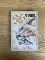 Ian Fleming 1st Edition Library FEL On Her Majesty's Secret Service Facsimile