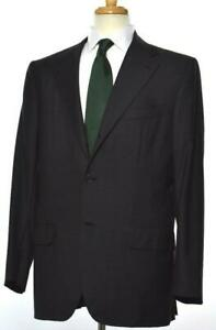 KITON Cipa 1960 Mens Herringbone 3-BTN Wool Slim Suit 54 EU/ 44 R US NEW $6795