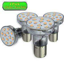 4 Pack Leisure Led Spotlight Bulb Bayonet Rv 1156 1141 1383 2.1 Watt WW Long