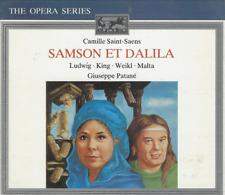 COFFRET 2 CD CAMILLE SAINT-SAENS SAMSON ET DALILA   CO107