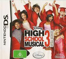 NINTENDO DS HIGH SCHOOL MUSICAL 3 SENIOR YEAR GAME DS LITE, DSI, DSI XL & 3DS