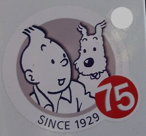since 1929 graphics label sticker decal Snowy Tin Tin UK Supplier