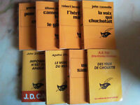 COLLECTION LE MASQUE LOT DE  OUVRAGES DONT AGATHA CHRISTIE POLICIERS 1970.90