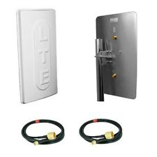 LTE Antenna MIMO 800 2x15dbi 10m Cavo per EASYBOX 903 904 b1000 b2000 y ibrida