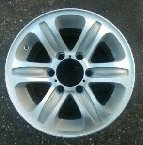 "Isuzu Rodeo 2000 2001 16"" OEM Wheel Rim Silver Machined"