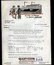 """ALFORTVILLE (94) ISOLANT de TOITURE / MASTICON """"Ets BALOT"""" en 1925"""