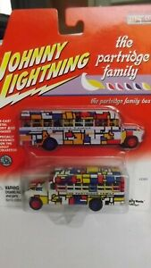 Johnny Lightning The Partridge Family Bus Hollywood On Wheels 1/64 Scale