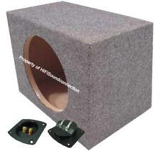 Car Audio Single Sealed Subwoofer Enclosure Bass Stereo 12-Inch Sub Speaker Box