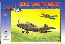 AML Models 1/72 SIEBEL Si-202 HUMMEL German WWII Trainer