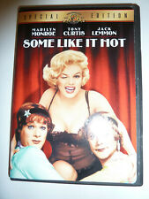 Some Like It Hot Dvd classic 50s comedy movie Marilyn Monroe Special Edition!