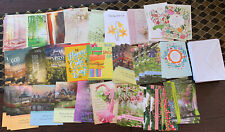 Assorted Lot Of 65 Religious Greeting Cards By Dayspring Christian Prayers 1984+