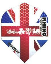 WINMAU RHINO UNION JACK 4 NATIONS STANDARD SHAPE EXTRA THICK FLIGHTS