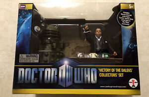 """Doctor Who Victory Of The Daleks - Ironside & Churchill 5"""" Action Figure Set NEW"""