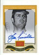 2012 PANINI GOLDEN AGE Lou Piniella Autograph