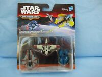 Star Wars Micromachines Clone Strike Jedi Interceptor Droid Fighter 3 Ships Toy