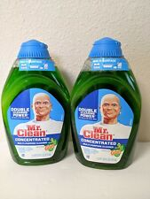 Lot of 2 Mr Clean concentrated Cleaner Gain Original Fresh 16oz