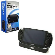 KMD Charging Dock Station For Sony PlayStation Vita PSVita PCH-1000, Black