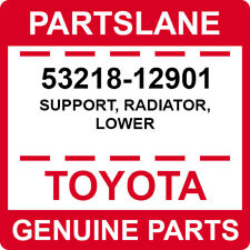 53218-12901 Toyota OEM Genuine SUPPORT, RADIATOR, LOWER