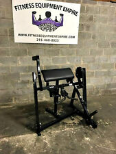 Hammer Strength Plate Loaded Bicep- BUYER PAYS SHIPPING