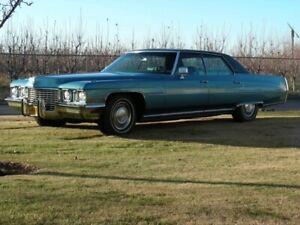 1972 Cadillac DeVille 4DR