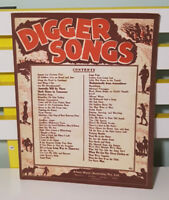 DIGGER SONGS SHEET MUSIC! ALLANS MUSIC (AUSTRALIA) PTY LTD!