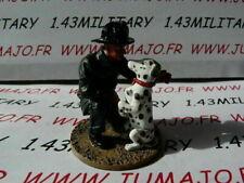 SOLDAT plomb DEL PRADO 1/32 POMPIERS /MONDE USA San Francisco 1930 dalmatien n57