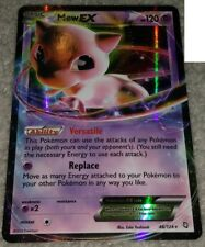 MEW EX 46/124 Ultra Rare Pokemon Holo Foil Star Card! Dragons Exalted!