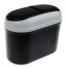 Mini Car Trash Rubbish Can Garbage Dust Case Holder Bin ED