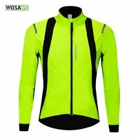 Thermal Cycling Jacket Winter MTB Bike Jerseys Reflective Bicycle Windproof Coat