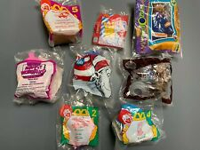 Mcdonald's Burger King Happy Meal Toys Vintage Lot
