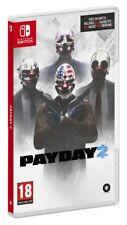 Payday 2 PAL ESPAÑA SWITCH ESPAÑOL NUEVO CASTELLANO PRECINTADO