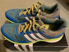 ADIDAS SUPERNOVA GLIDE 8 BOOST NEUTRAL SIZE 9 IN LIGHT BLUE