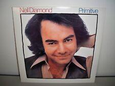 NEIL DIAMOND PRIMITIVE VINYL LP RECORD ALBUM (1984)