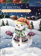 In Recital with Popular Christmas Music, Book 2 - Piano Songbook FJH1762
