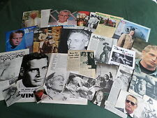 PAUL NEWMAN  - FILM STAR - CLIPPINGS/ CUTTINGS PACK