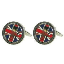 Union Jack with Beefeater CUFFLINKS Yeoman Guard Christmas BIRTHDAY PRESENT